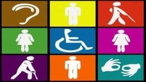 Iconos de discapacidad