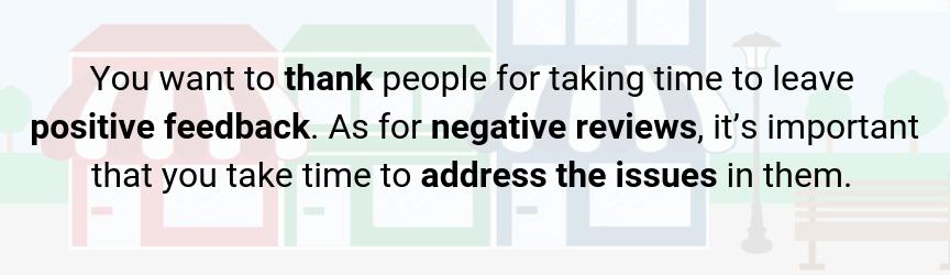 la gestión de revisiones es extremadamente importante para mantener a los clientes locales