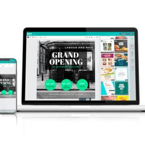 EDIT.ORG La mejor plataforma de diseño gráfico actual y Made In Spain