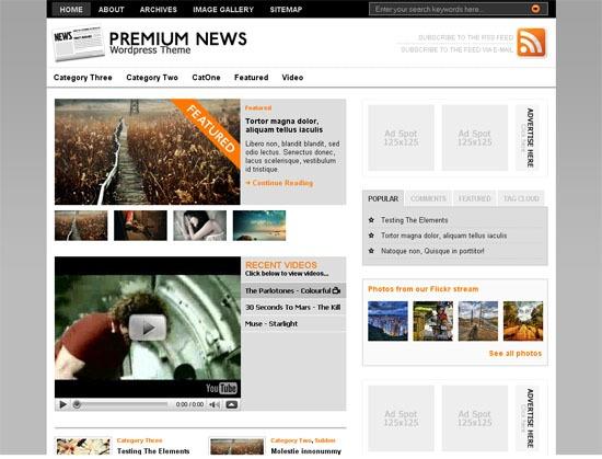 La captura de pantalla Original Premium News.