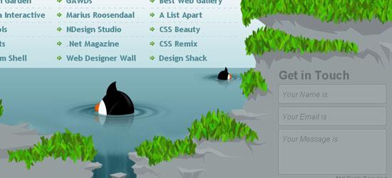 Branded07: captura de pantalla en el pie de página.
