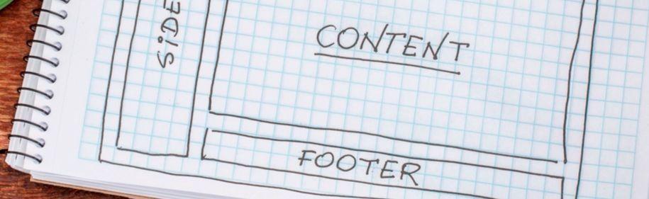 25 elegantes diseños de pie de página para sitios web