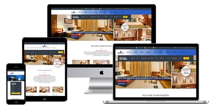 Página web de Hotel