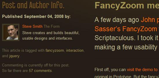 Lista ordenada: captura de pantalla.