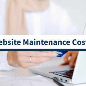 10 costos de mantenimiento del sitio web que debe conocer
