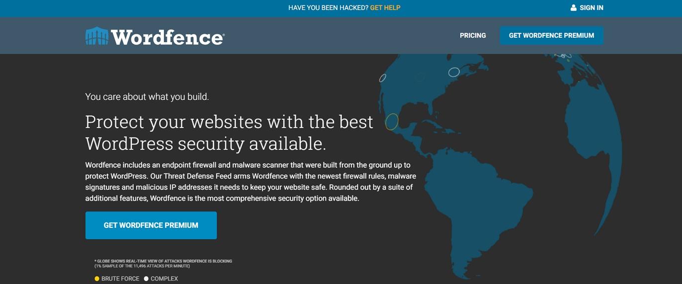 Seguridad de Wordfence