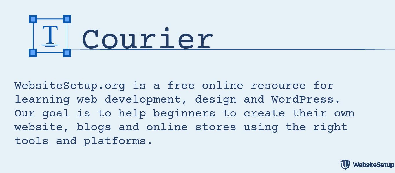 Fuente Courier