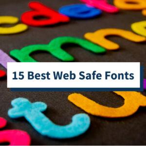 Las 15 mejores fuentes HTML y CSS seguras para la web