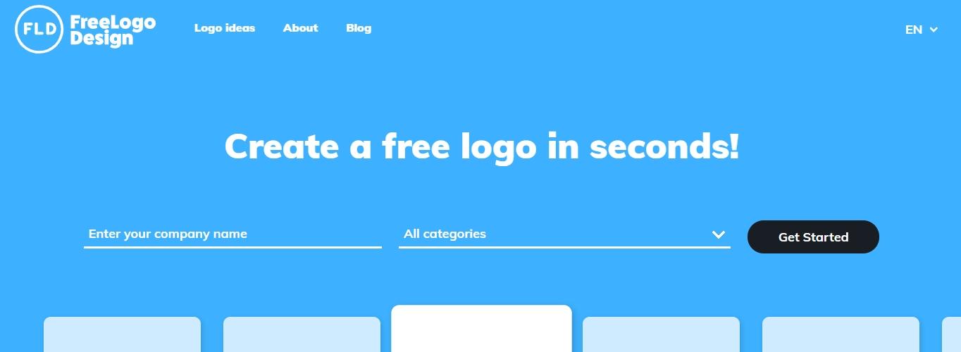 Creador de logotipos FreeLogoDesing.com
