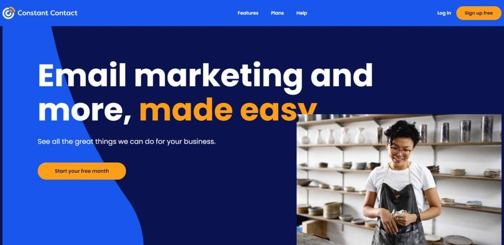 marketing por correo electrónico de contacto constante