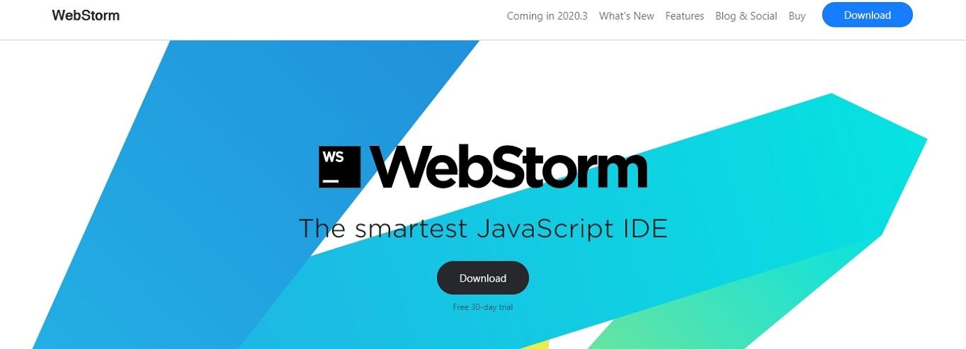 Sitio web de WebStorm IDE
