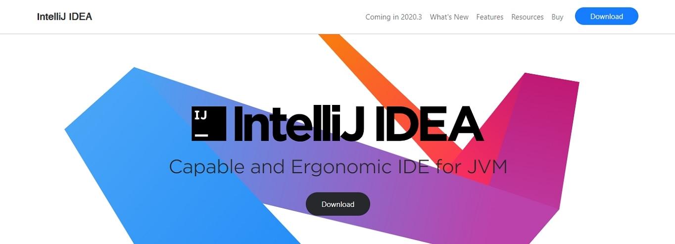 Uno de los mejores IDE para desarrollo web, IntelliJ IDEA.