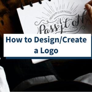 Cómo diseñar / crear un logotipo para un sitio web (6 pasos)