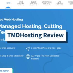 Revisión de TMDHosting: revisión de velocidad, tiempo de actividad y soporte