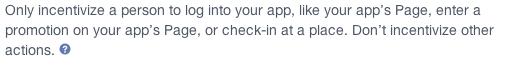 incentivos de facebook