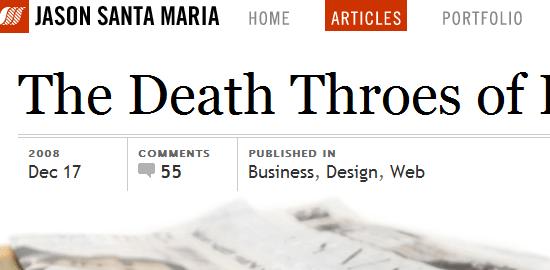 20 sitios web con hermosa tipografía