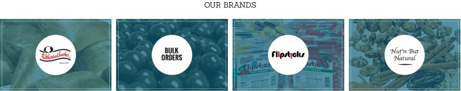 Un sitio web con fotos en su diseño