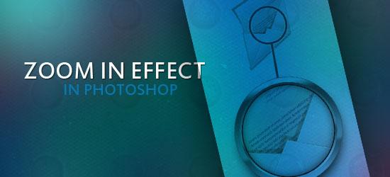 Crear un efecto de zoom en Photoshop