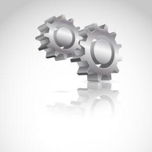 Cree ruedas dentadas vectoriales 3D en Adobe Illustrator