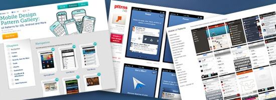 Patrones de diseño de interfaz de usuario móvil: más de 10 sitios para inspirarse