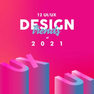 Tendencias de diseño web moderno para 2021