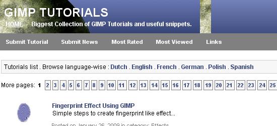 Tutoriales de GIMP: captura de pantalla.