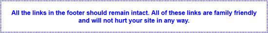 El mensaje que se muestra en todas las páginas cuando se elimina un enlace estático.