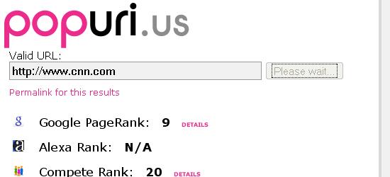 popuri.us: captura de pantalla.