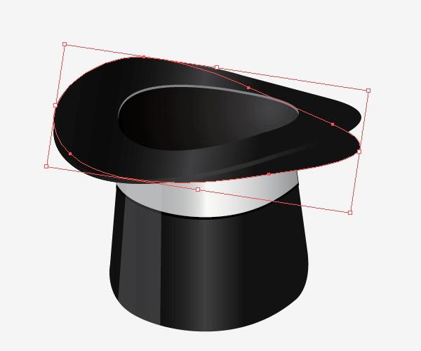 Crea sombras para el sombrero