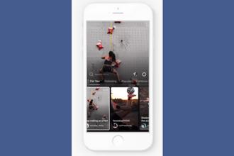 Un ejemplo de la interfaz IGTV en Instagram