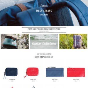 26 inspiradores diseños de sitios web de tiendas online de moda