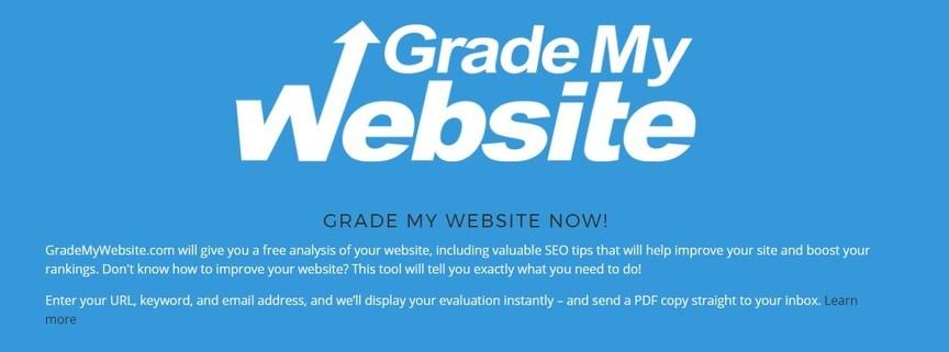 calificar mi sitio web