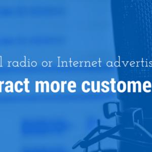 Publicidad en radio versus publicidad en Internet: ¿Qué es mejor?