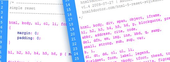 Una guía completa para restablecimientos de CSS