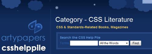 Pila de ayuda CSS: captura de pantalla.