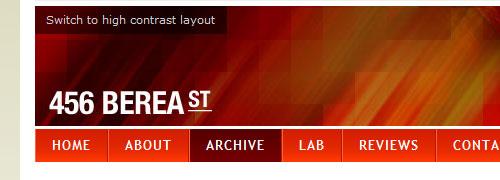 456 Berea Street - categoría CSS - captura de pantalla.