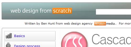 Diseño web desde cero: CSS - captura de pantalla.
