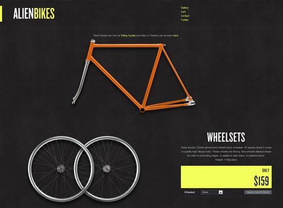 Bicicletas alienígenas