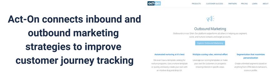 Una definición de Act-On, un software de automatización de marketing