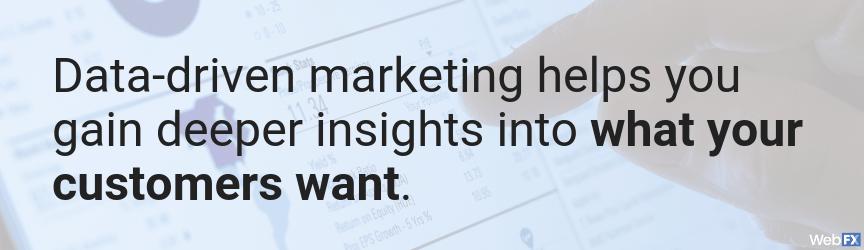 5 consejos para utilizar el marketing basado en datos para crear campañas eficaces