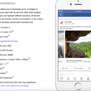 6 consejos de anuncios en carrusel de Facebook para ayudarlo a publicitar su negocio