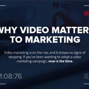 Por qué el vídeo es importante para el marketing   Infografia