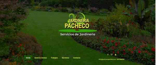 Página web de Jardinería